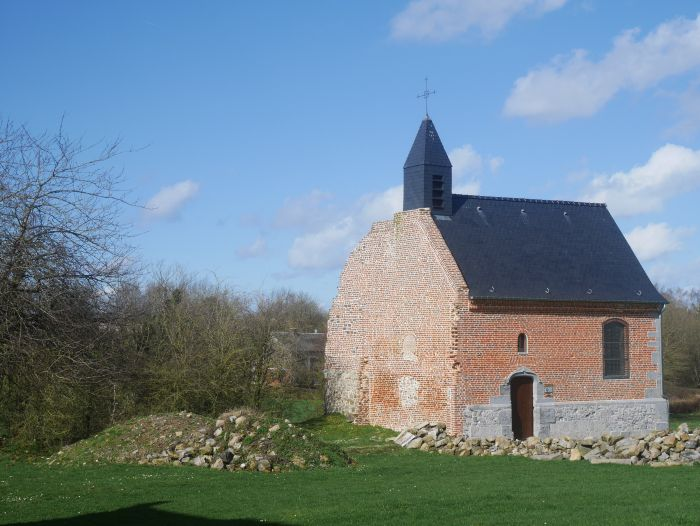 photo d'une chapelle en Avesnois